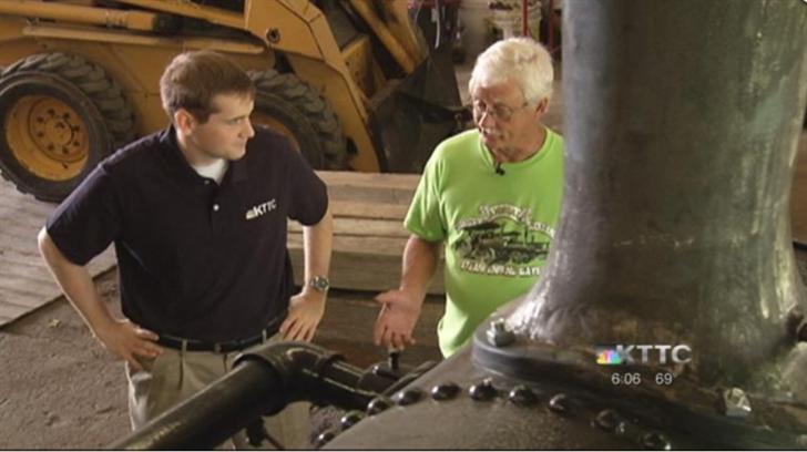 Junior Dahl explains steam technology