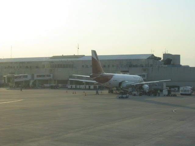 The main airport terminal
