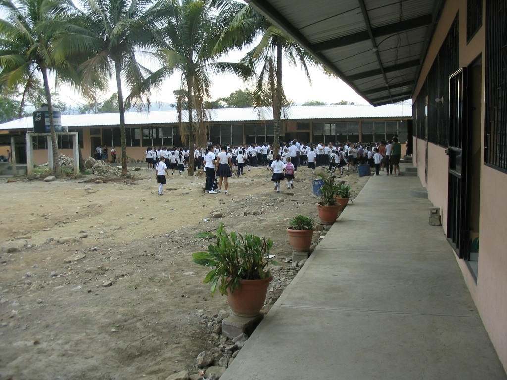 School court yard
