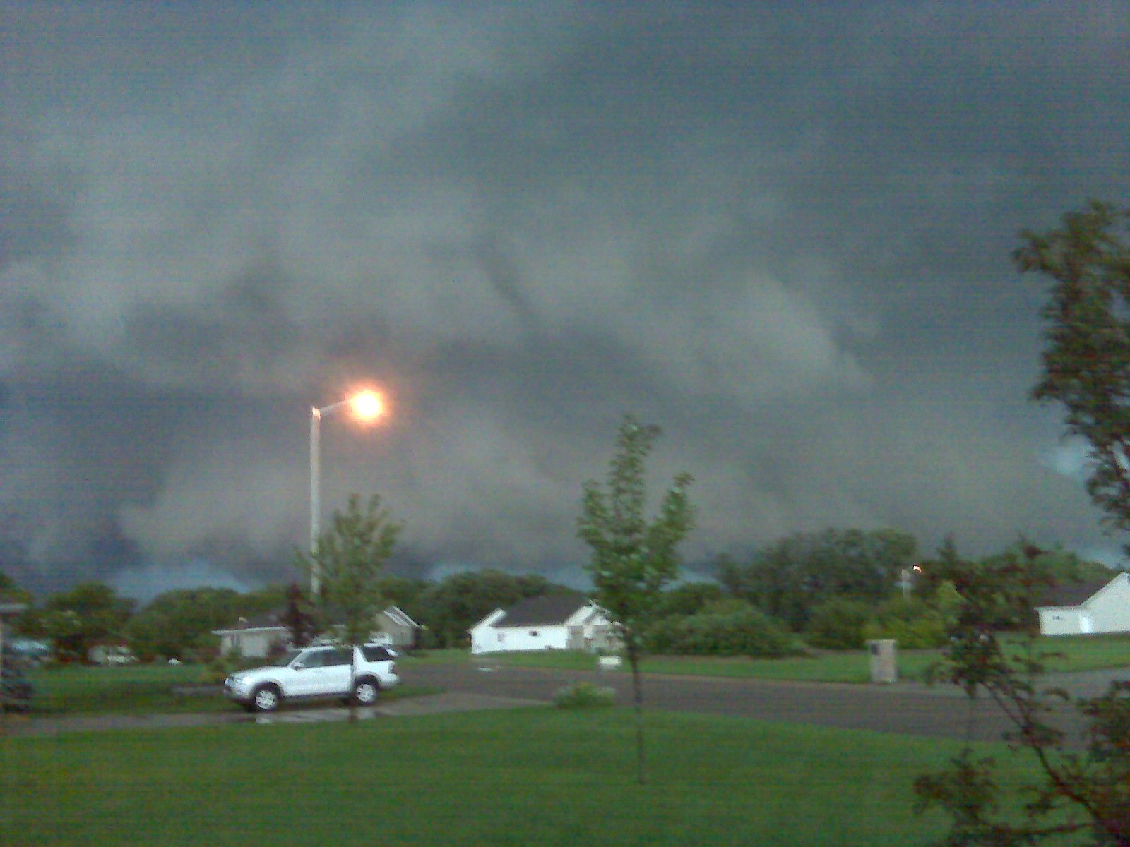 Tornado east of Albert Lea