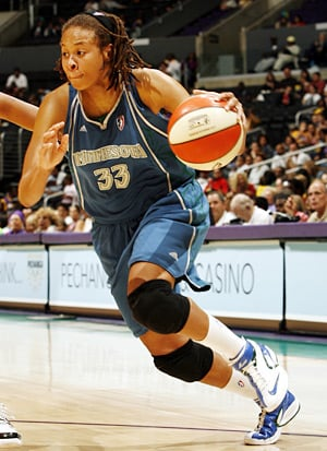 Seimone Augustus scored 24 for Minnesota
