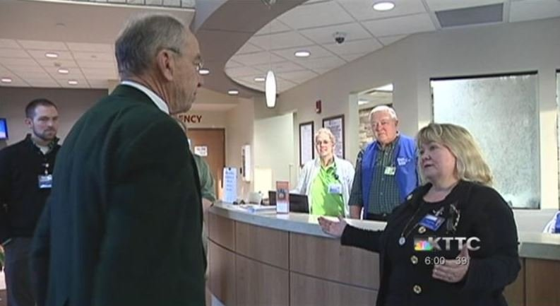 Senator Chuck Grassley tours RHSHC in Cresco