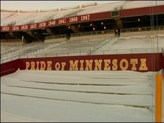 Vikings fans have a big challenge ahead -- clearing the seats at TCF Bank Stadium
