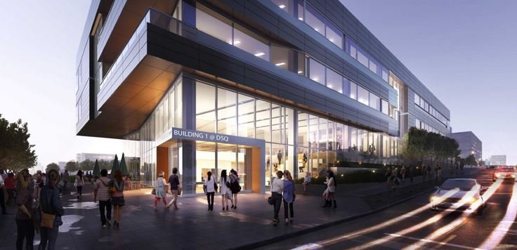 Building 1 @DSQ (Artist rendering from M.A. Mortenson Co.)