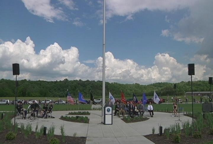 Hundreds attended a dedication ceremony at the Minnesota State Veterans Cemetery, where a memorial service will take place this Sunday