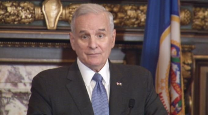 Gov. Mark Dayton (DFL) held a press conference Friday afternoon to answer questions about the 2017 legislative session