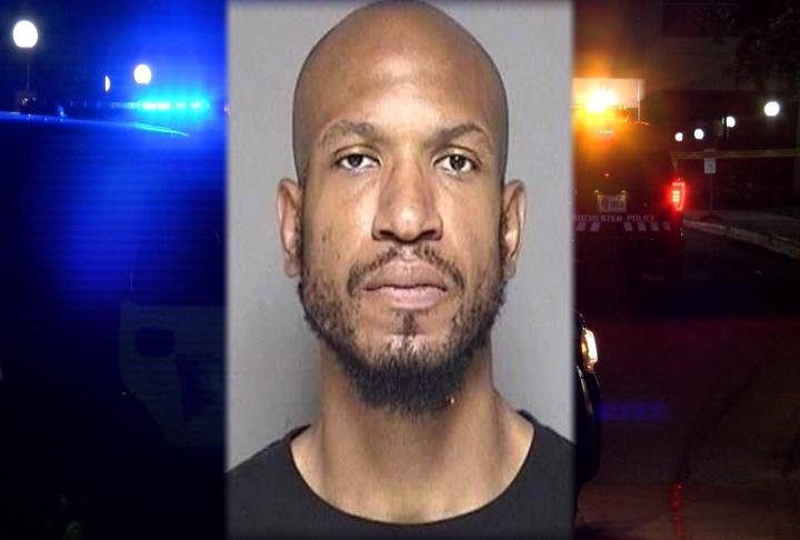 Suspected shooter Roderick Malone was quickly arrested