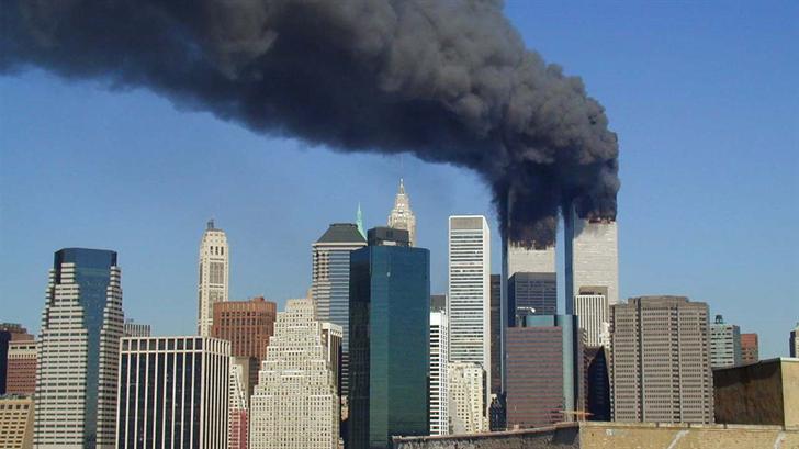 Scene of the attack in 2001.