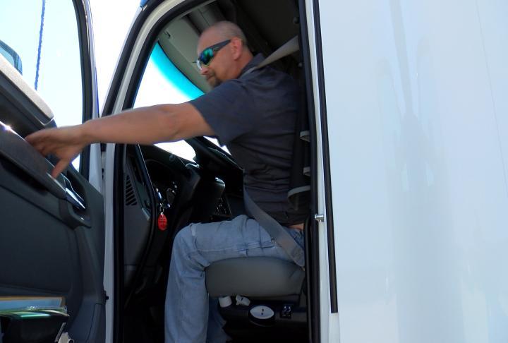 Driver Steve Dauer