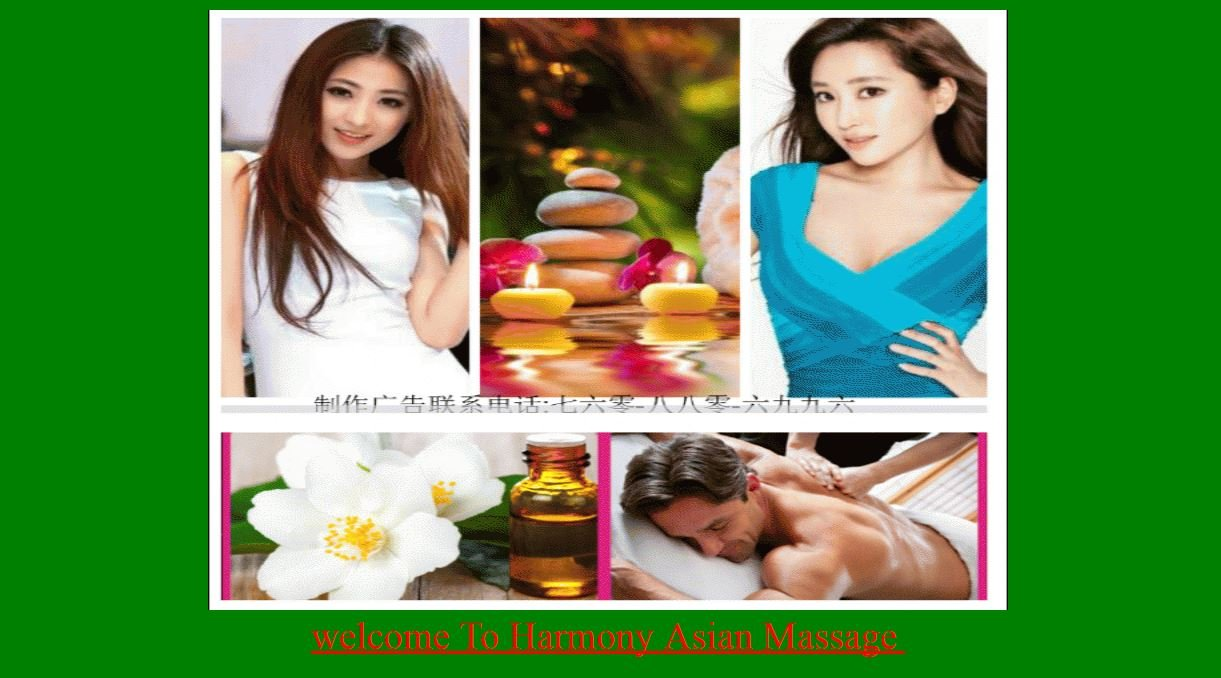 Image from Harmony Asian Massage website