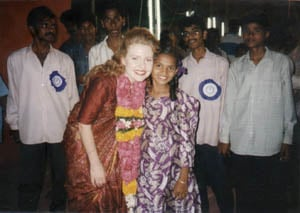 The beautiful children in India forever changed my heart (February, 1996)