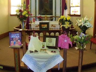 Terefech's memorial service at Elstad Lutheran Church (January, 2011)
