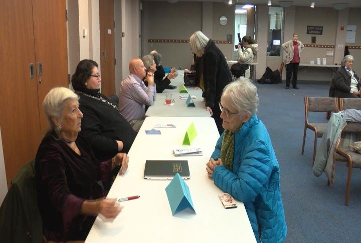 RPL's Oral History Fair allowed the public to meet those who recorded their oral histories.