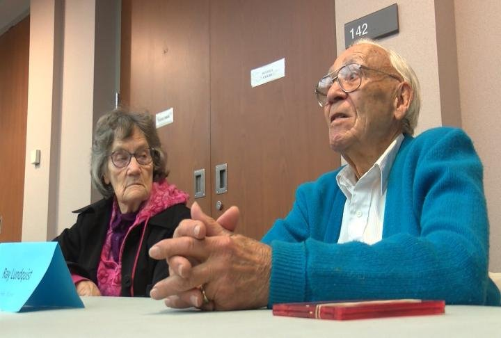 Ray Lundquist is one of the community members who recorded an oral history.