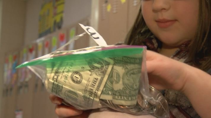 Rory was saving up her money in case something bad happened.