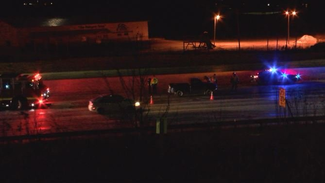 Two vehicle accident near 65th Street NW exit in Rochester