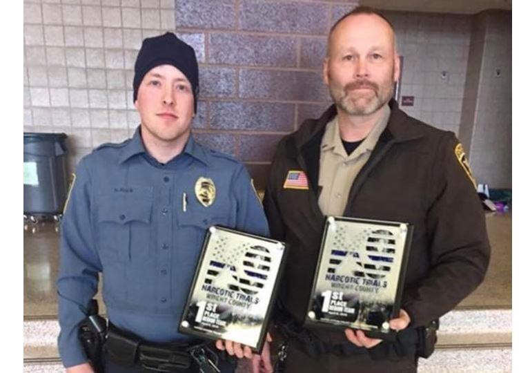 Months after losing his K9 partner, deputy earns regional honor - KTTC 1