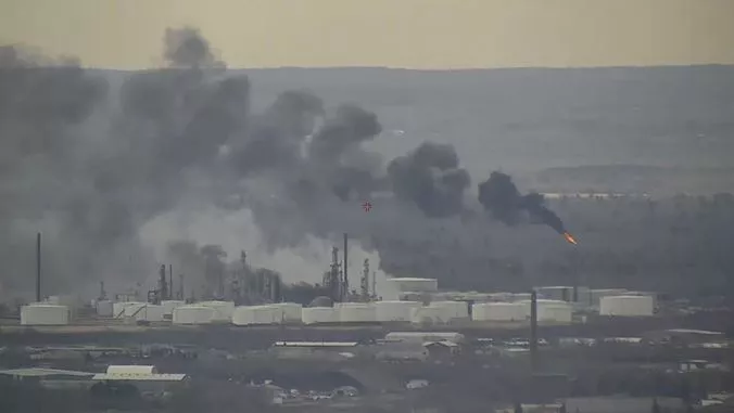 At Least 20 Injured in Reported Explosion at Superior Refinery