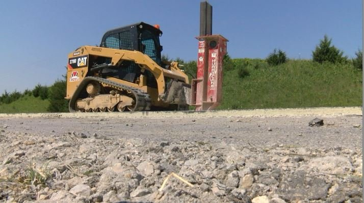 MnDOT contractors removing concrete ruined after June 29th incident
