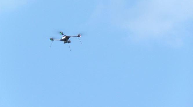 RPD police drone on patrol in Eyota