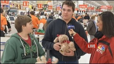 "Free ""Holiday Puppies"" were a huge hit at Mills Fleet Farm"
