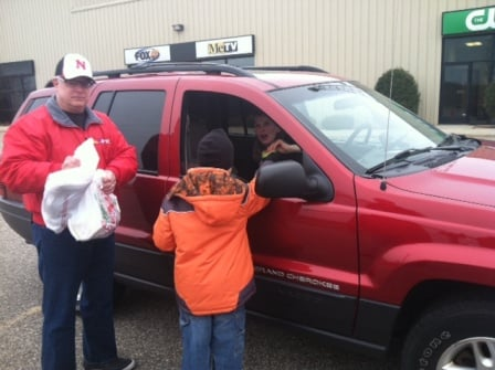 Regional VP/General Manager Jerry Watson launched the KTTC Drive-by Toy Drive in 1992 -- 20 years ago