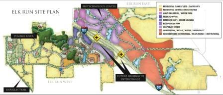 Elk Run Site Plan