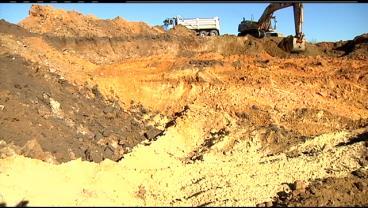 Nisbit Sand Mine near Saratoga