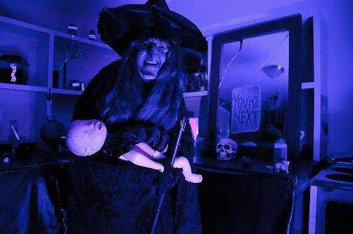 The Witch at the Haunted Farmstead