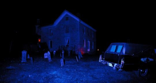 The Haunted Farmhouse at the History Center of Olmsted County