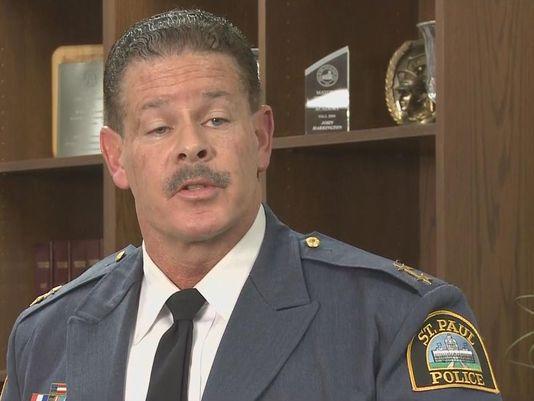 St. Paul Police Chief Thomas Smith