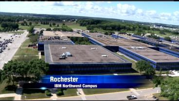IBM/s main campus in northwest Rochester