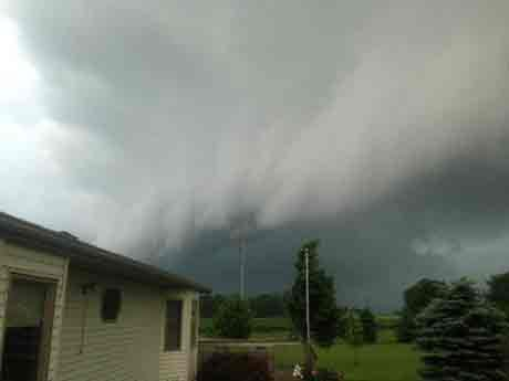 Photo from: Carl Johnson, Southeast of Stewartville
