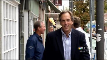Republican U.S. Senate candidate Mike McFadden campaigns in Rochester / Sept. 10