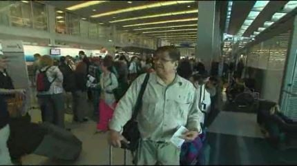 Inside O'Hare Airport / CNN