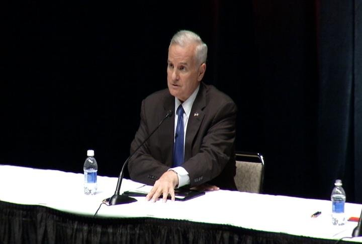 Gov. Mark Dayton (DFL) / Oct. 1 debate in Rochester
