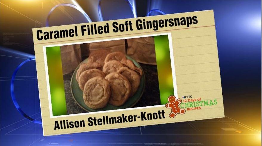 Caramel Filled Soft Gingersnaps