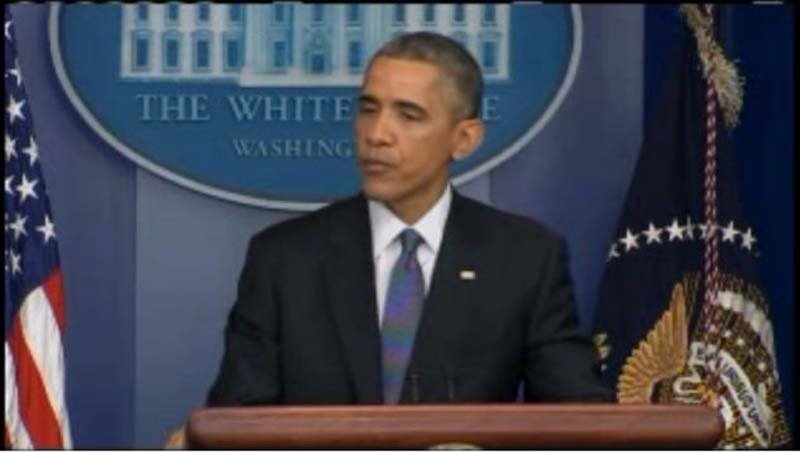 President Obama holds end of the year news conference