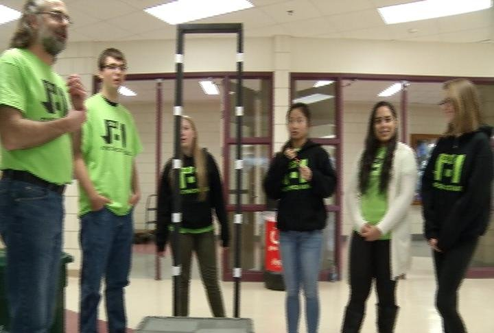 Robotics competition kickoff takes place at Mayo High School