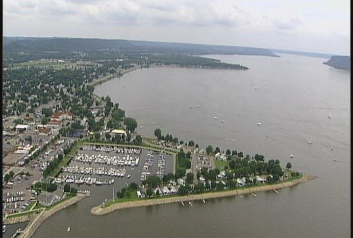 Lake Pepin in Lake City has been known to have the invasive zebra mussel residing under the waves