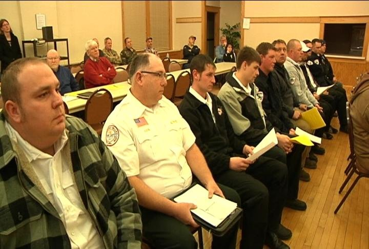 Pine Island Fire Department packs city council meeting