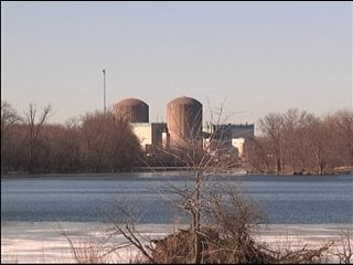 Prairie Island Nuclear Power Plant six miles northwest of Red Wing, Minnesota