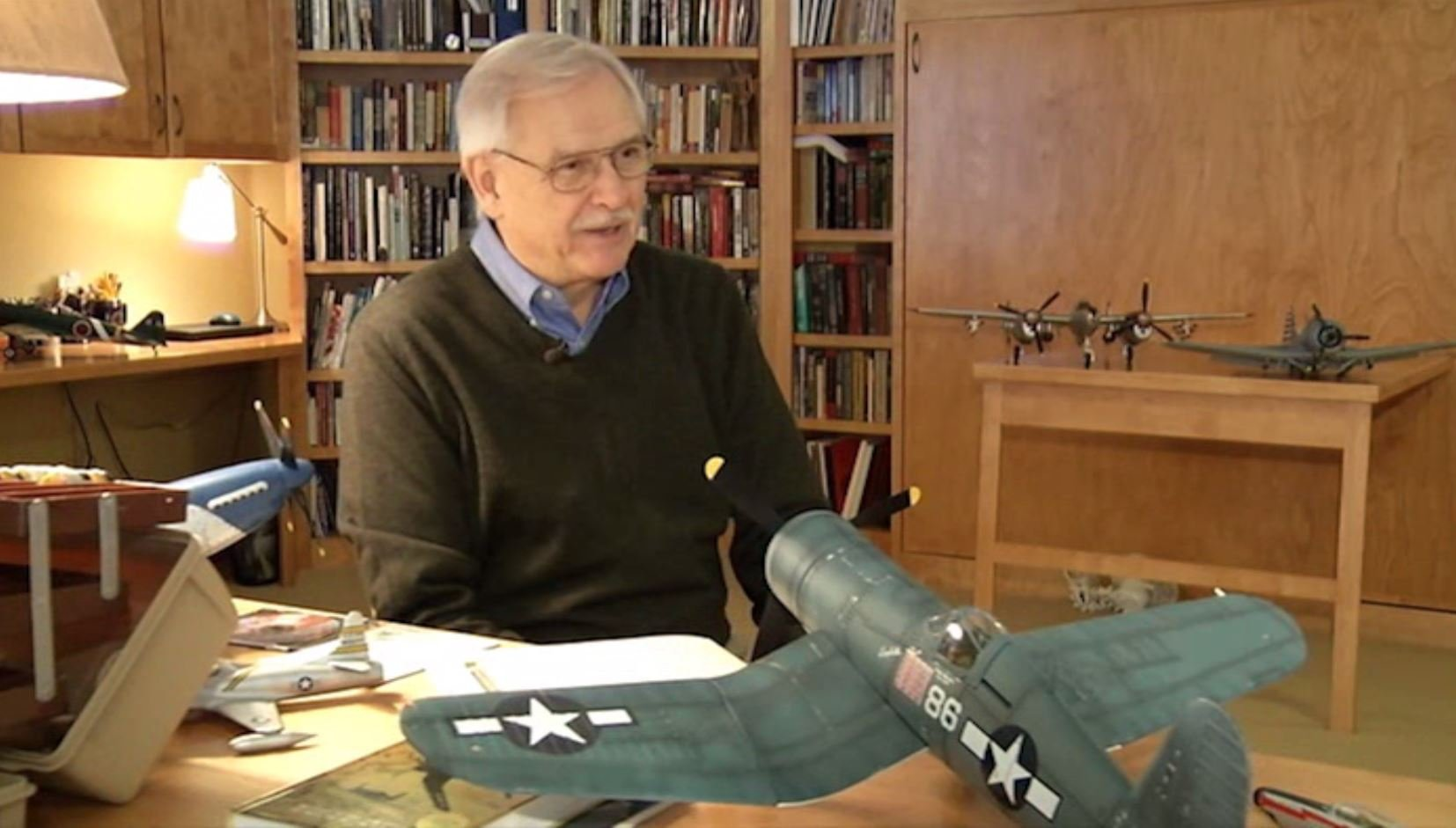 Tom Brinkman has spent a lifetime loving, studying and creating World War II aircraft