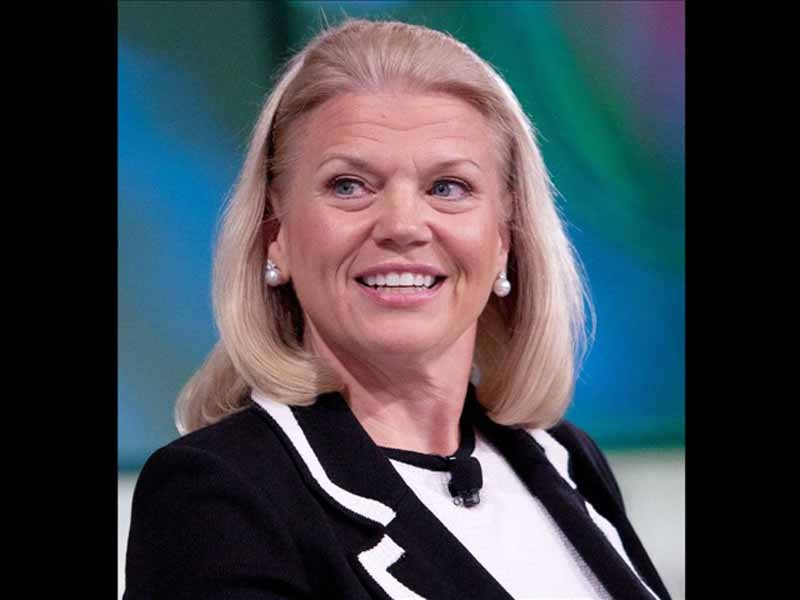 IBM CEO Virginia Rometty / Cropped Photo: Fortune Live Media / MGN