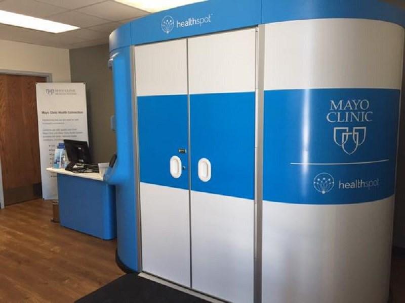 New telehealth kiosks open for Austin Public School staff