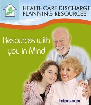Healthcare Discharge Planning Resources  - Sponsorship Header