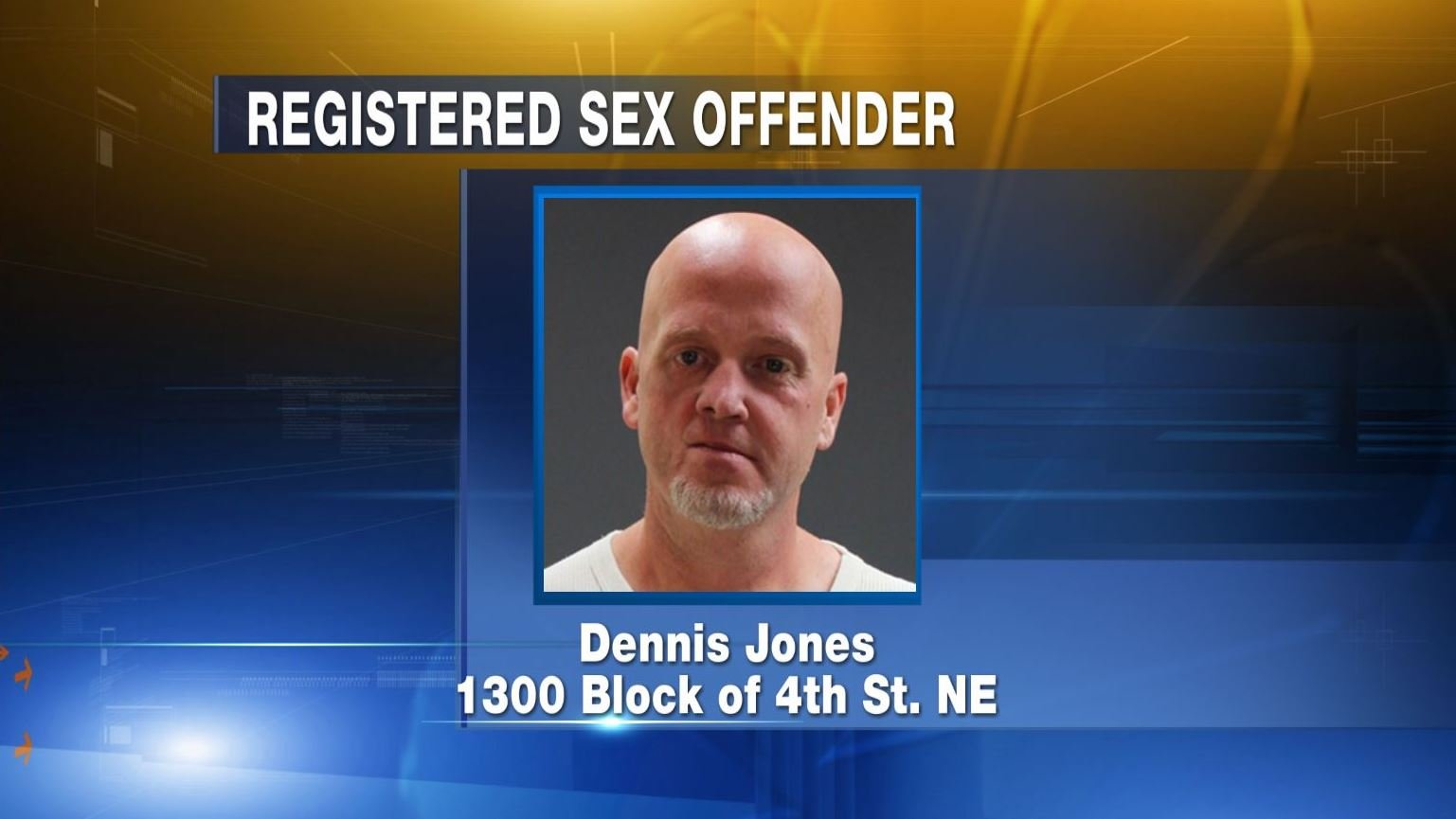 Registered leve 3 delincuente sexual