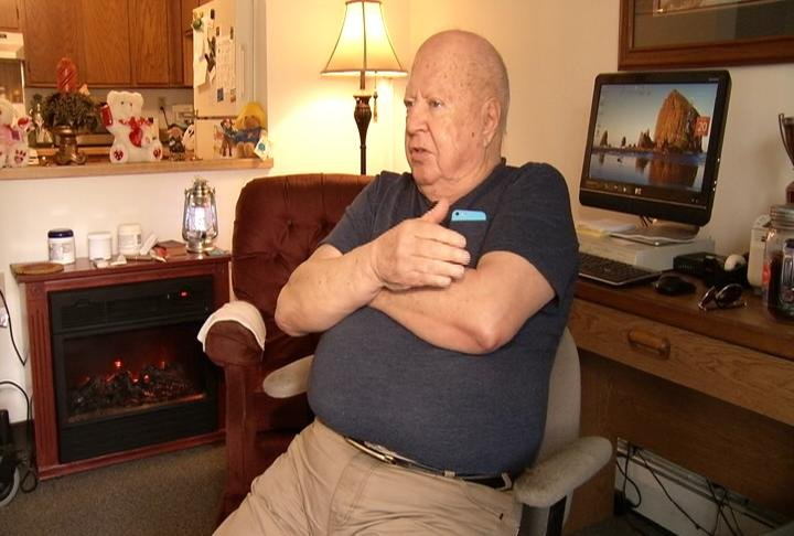 Fred Paulson moved into Pickett Place in Austin after a full year on a waiting list.