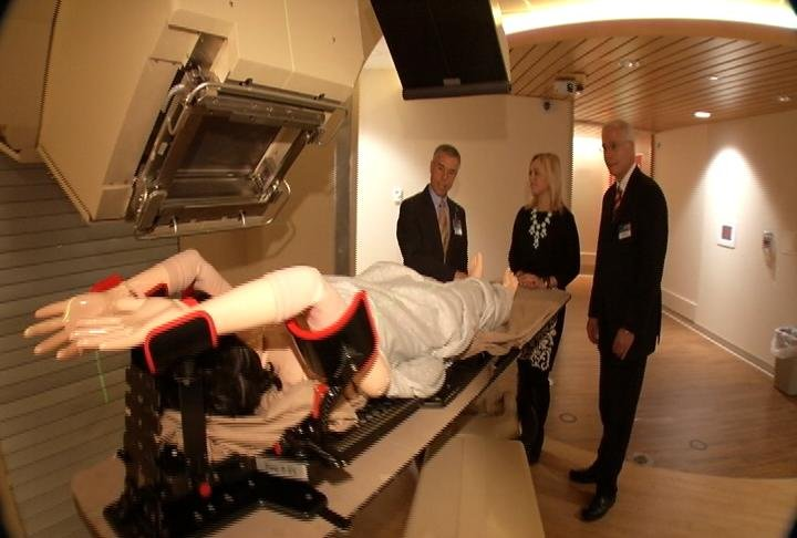 Tour of Mayo Clinic proton beam treatment facilities / Photo: KTTC