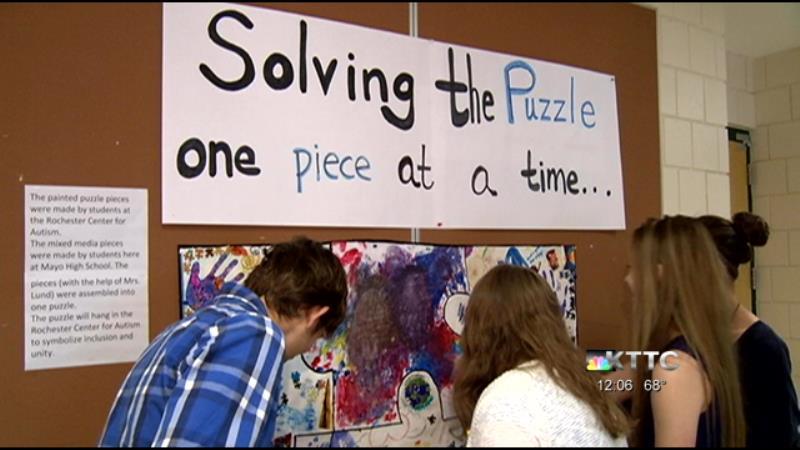 Autism Awareness Week at Mayo High School